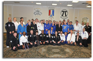 DePasquale Yoshitsune Traditional and Combat Ju-Jitsu Black Belts that attended.