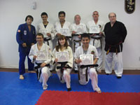 Congratulations Black Belts