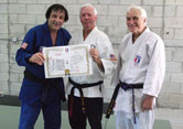 Jim Haggeman receives Godan Shihan